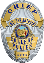MtSAC Police badge