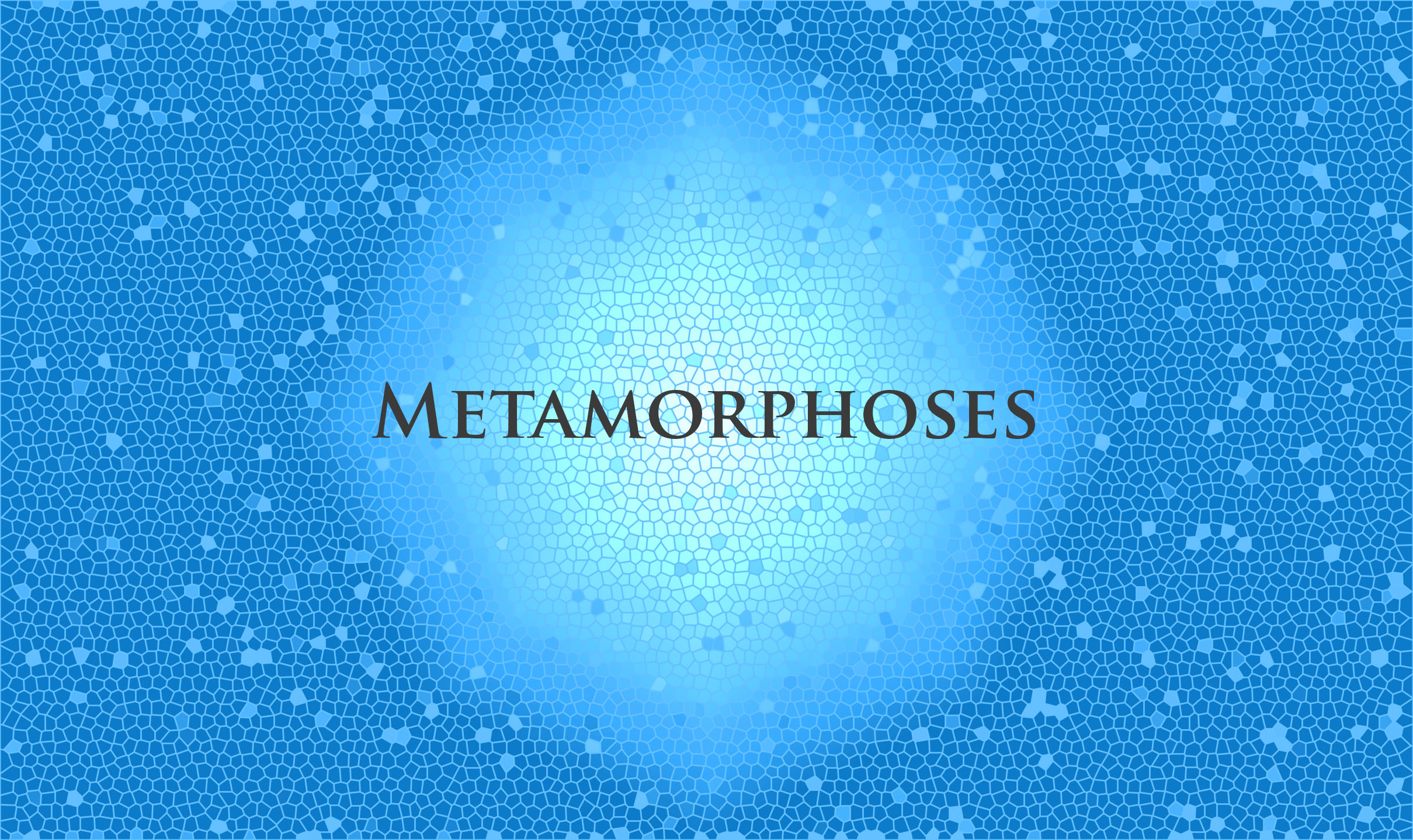 Metamorphoses Audition poster