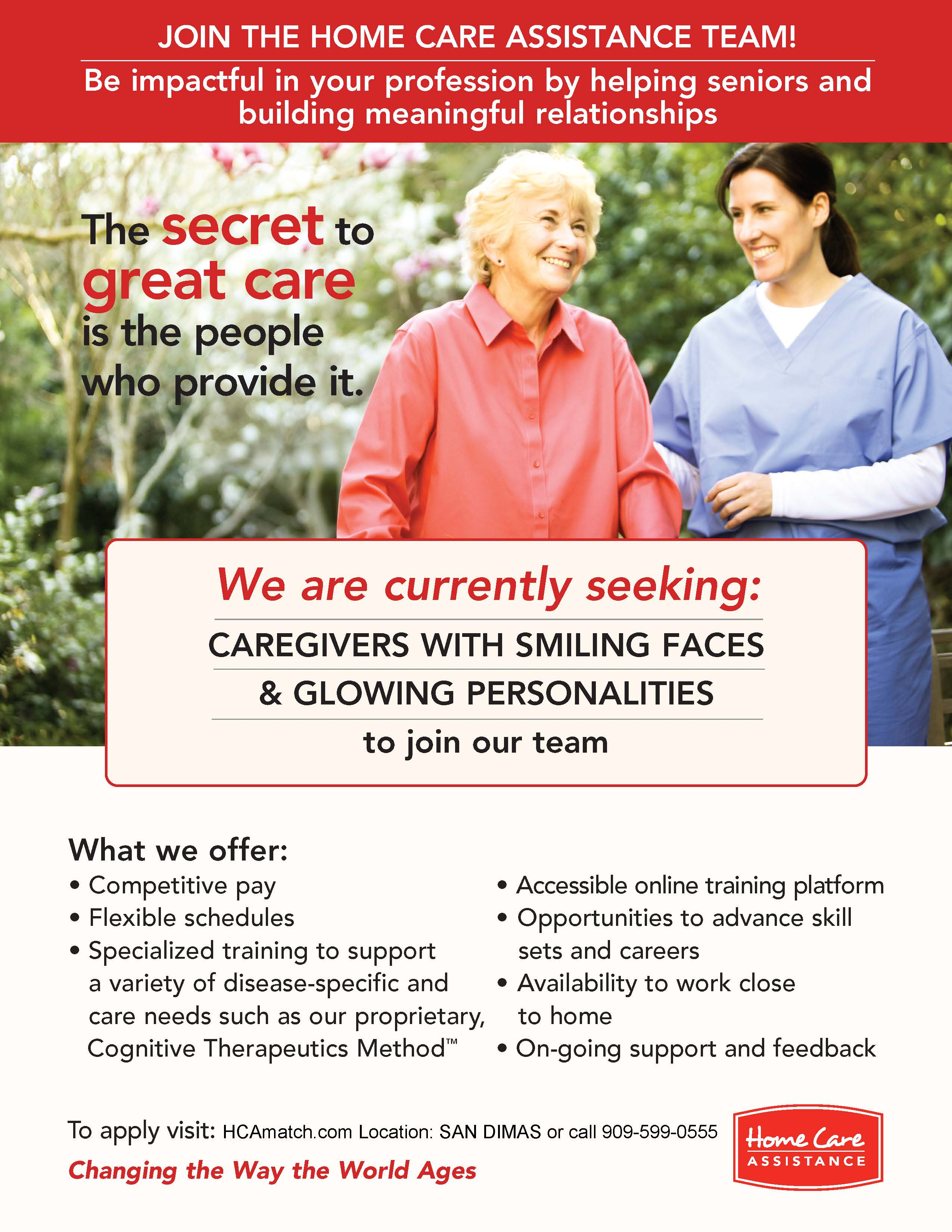 Caregiver Recruitment Flyer