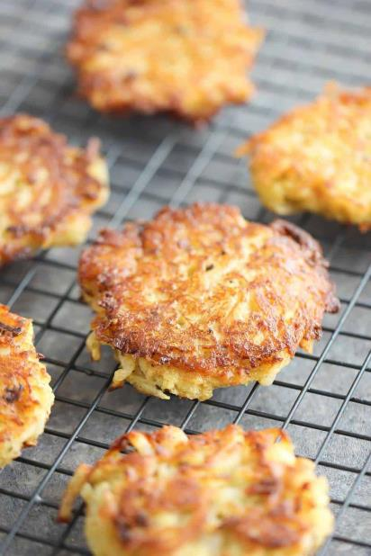 golden latkes