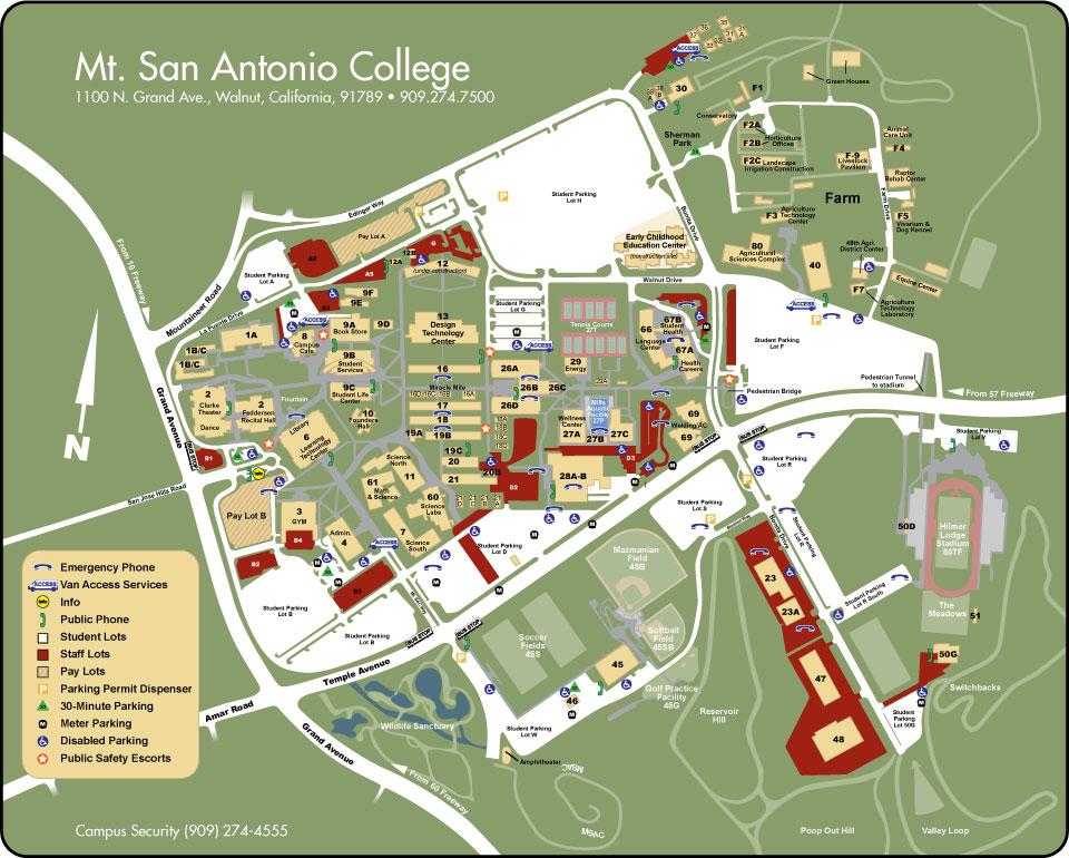mt san antonio college campus map Writing Center Hours And Location mt san antonio college campus map