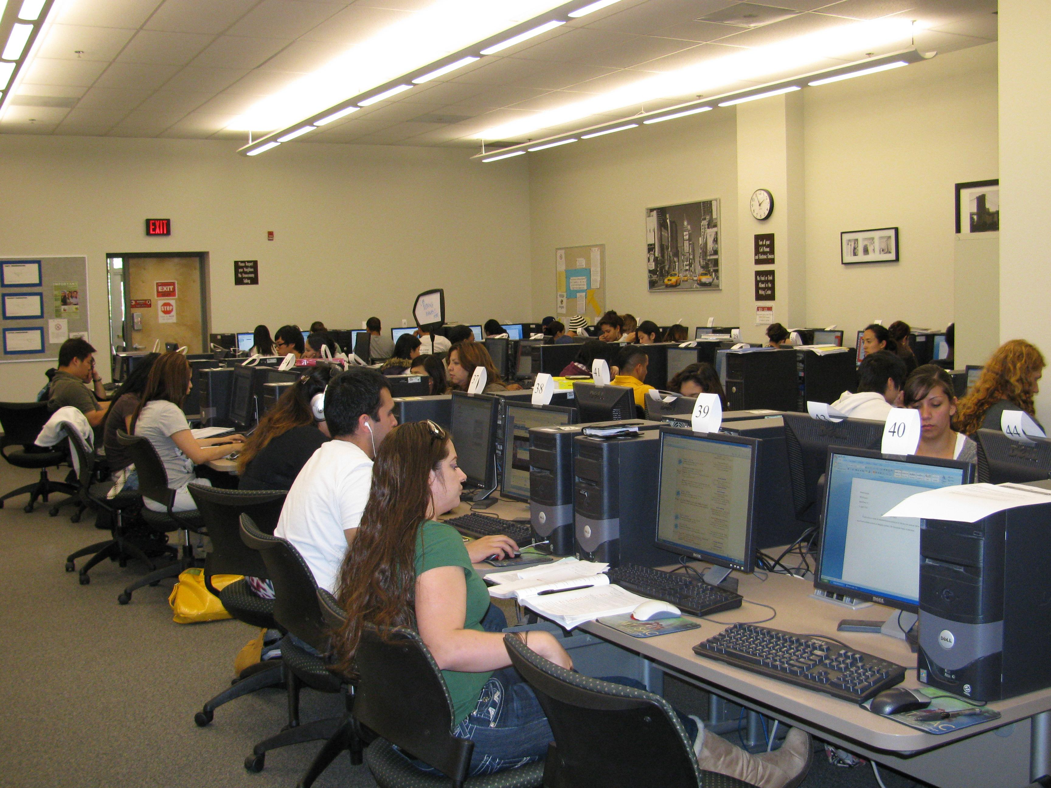 Writing Center Computer Lab